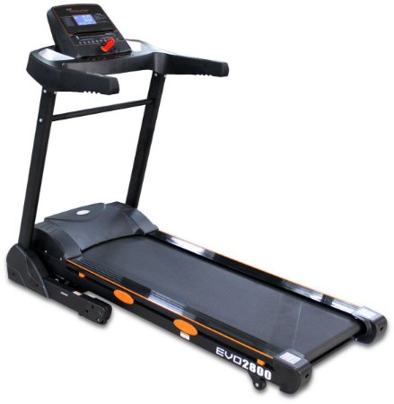 Esteira Ergométrica Evolution Fitness 2800 Bluethooth Mp3