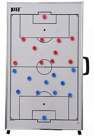 Quadro Tático Magnético De Futebol  Kief C/trípe E Mala