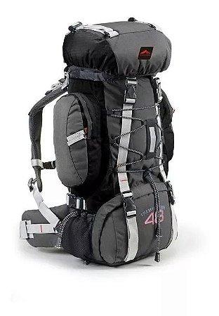 Mochila Trilhas E Rumos Crampon Tech 48 L Trekking Camping
