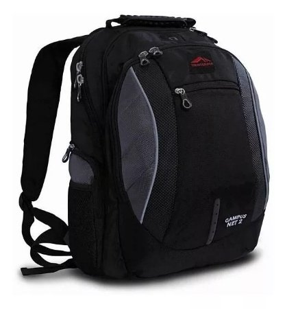 Mochila Executiva Trilhas Rumos Campus Net 2 Notebooks