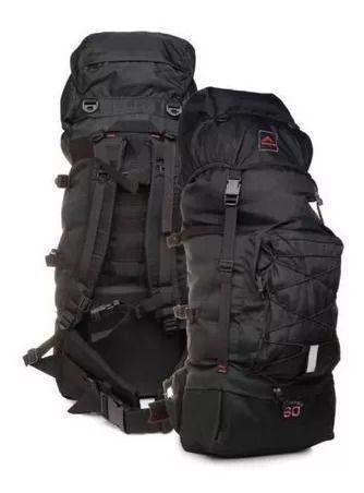 Mochila Camping Trekking Crampon 60 Litros - Trilhas E Rumos