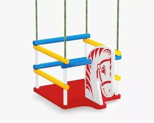 Balanco Madeira Cavalinho Infantil Cadeira