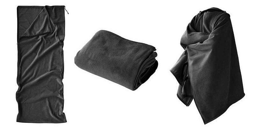 Saco De Dormir Mantafleece 3 Em 1 Saco - Poncho - Cobertor