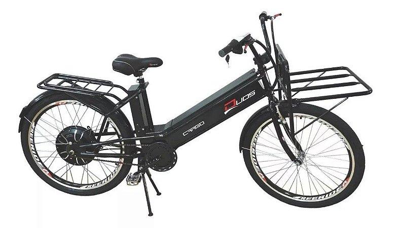 Bicicleta Elétrica Cargo 800w 48 Volts Duos Bike