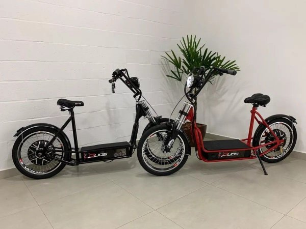 Patinete Elétrico Duos Bike Motor 800w C/ Alarme E Farol