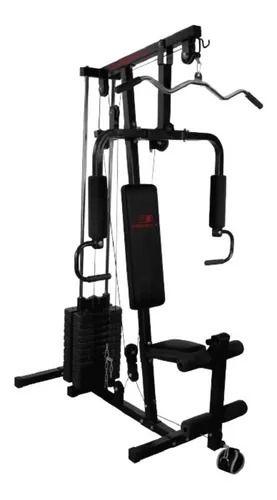 Estação De Musculação Embreex 405 21 Exercicios