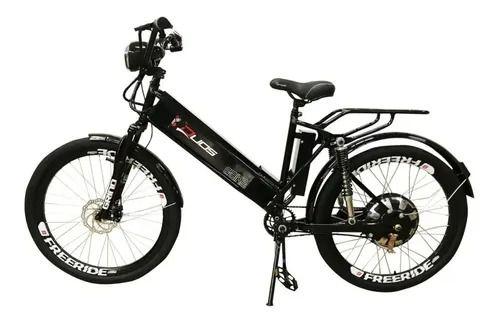 Bicicleta Elétrica Confort Full 800w C/ Alarme Farol Buzina