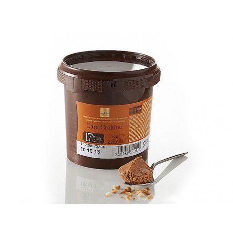 CaraCrakine - recheio pronto de caramelo, chocolate e crocante