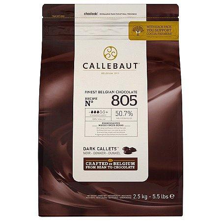 805 - Chocolate amargo em gotas 50,7%