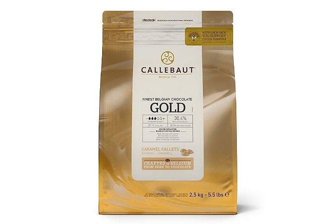 Gold - Chocolate branco com caramelo 30,4% Callebaut