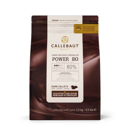 Power 80% - Chocolate Amargo - Gotas 2,5kg