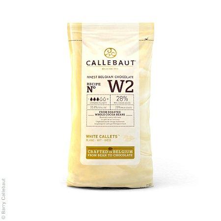 W2 Chocolate branco 28% - Gotas 1kg