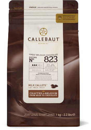 823 Chocolate ao Leite 33,6% - Gotas 1kg