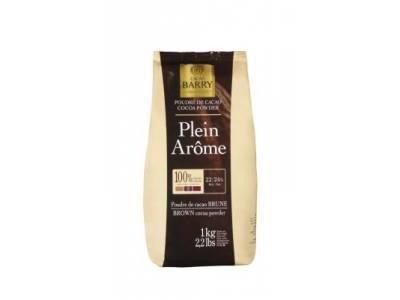 Plein Arome - Cacau em pó 100% Cacao Barry 1kg