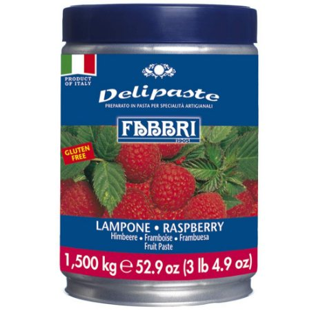 Pasta saborizante de framboesa Fabbri 1,5kg
