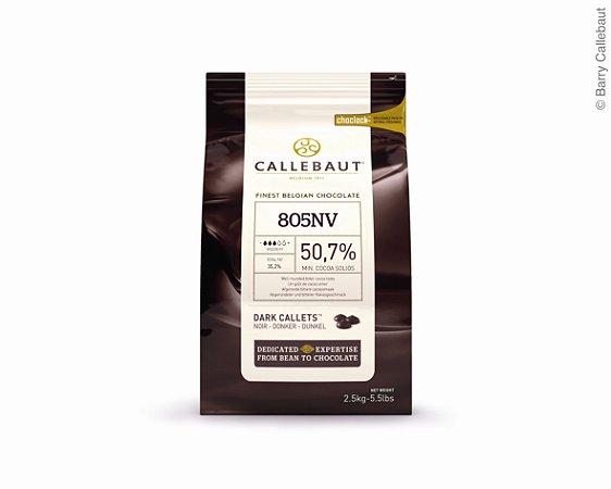 805 Chocolate amargo 50% - Gotas 2,5kg