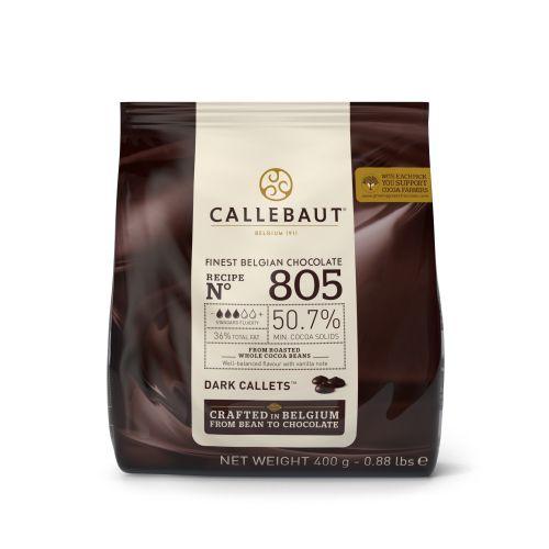 805 Chocolate amargo 50% - Gotas 400g