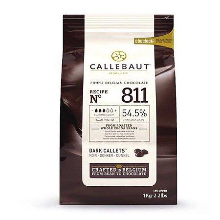 811 Chocolate Amargo 54,5% - Gotas 1kg