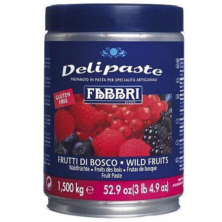 Pasta saborizante de frutas silvestres Fabbri 1,5kg