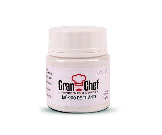 Corante Hidro-Lipossolúvel Gran Chef - Branco