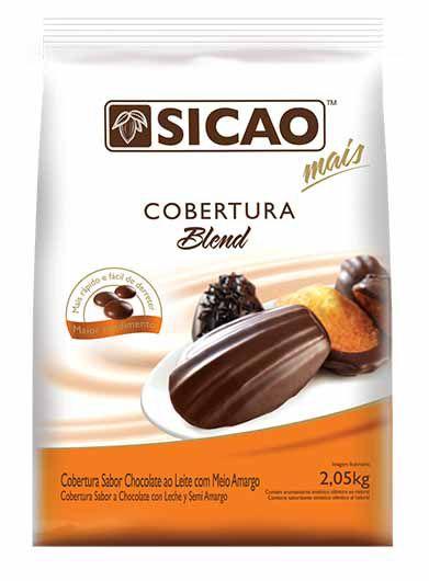 Cobertura Fracionada Blend Gotas  Sicao - 2,05kg