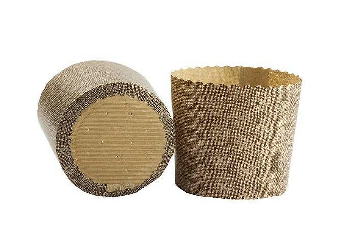 Forma Para Panetone Microperfurada Em Decorada