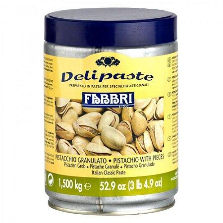 Pasta saborizante de pistache c/ pedaços Fabbri 1,5kg