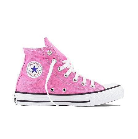 Tênis Converse All Star Chuck Taylor Cano Alto Hi - Rosa Cru
