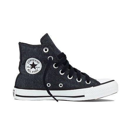 Tênis Converse All Star Chuck Taylor Cano Alto Hi - Ferro