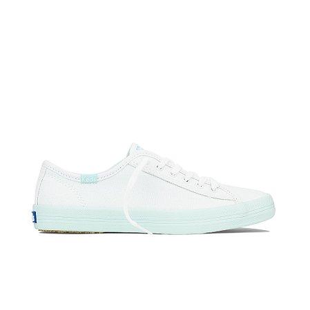 Tênis Keds Kickstart Colors Feminino - Branco C/Acqua