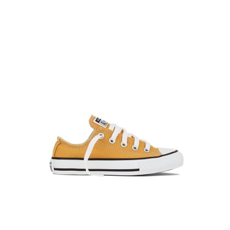 Tênis Converse Kids All Star Chuck Taylor - Amarelo Mostarda
