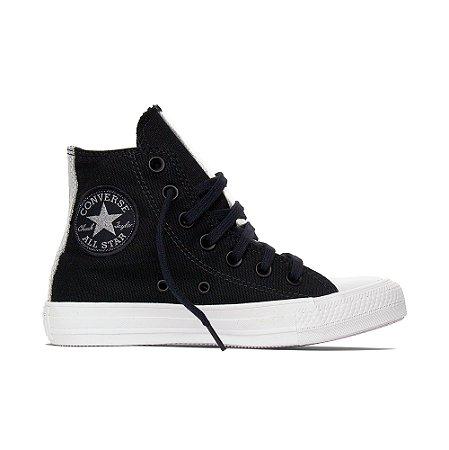 Tênis Converse All Star Chuck Taylor Cano Alto Hi - Preto/ Iridescente