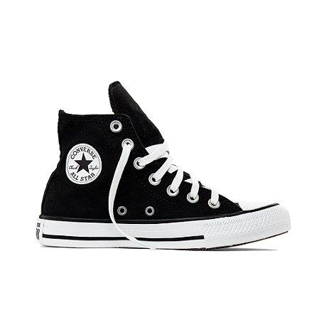 Tênis Converse All Star Chuck Taylor Hi Pocket - Preto