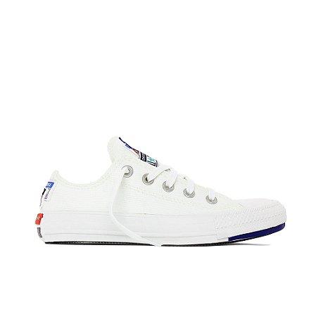 Tênis Converse All Star Chuck Taylor Ox Logo - Branco