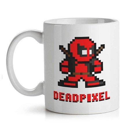 Caneca Deadpool - Pixel