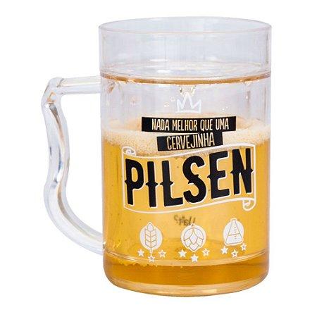 Mini caneco congelavel - cervejinha pilsen