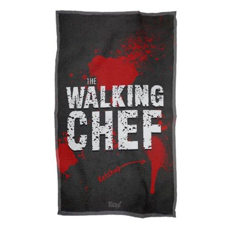 Pano de prato The Walking Chef
