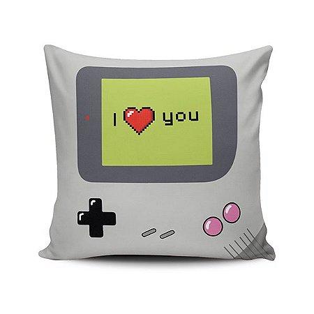 Capa de Almofada I love you Game