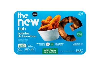 Bolinho de Bacalhau Vegetal 200g - The New