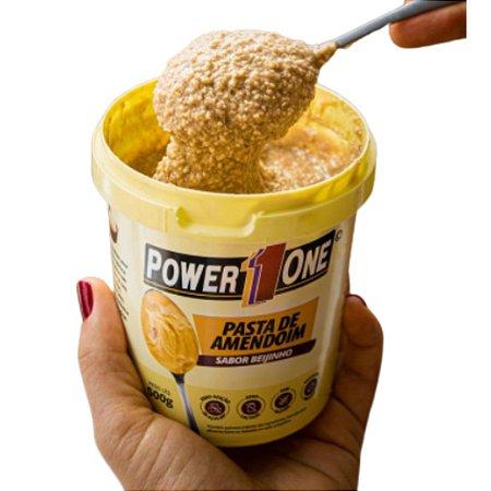 Pasta de Amendoim Beijinho 500g - Power One