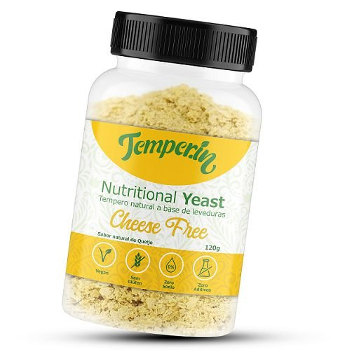 Nutritional Yeast Cheese Free 100g - Temper.In (Levedura Nutricional)