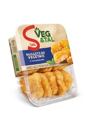 Nuggets Vegetal 200g - Sadia