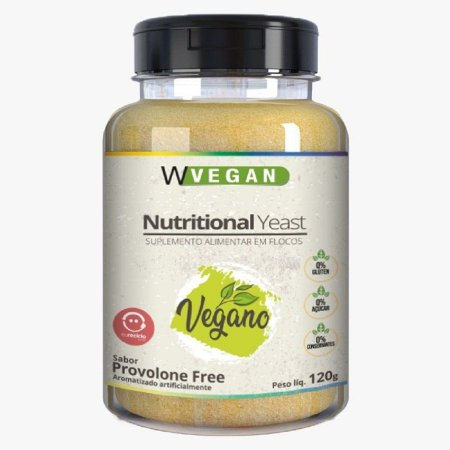 Nutritional Yeast em Flocos 120g - Wvegan