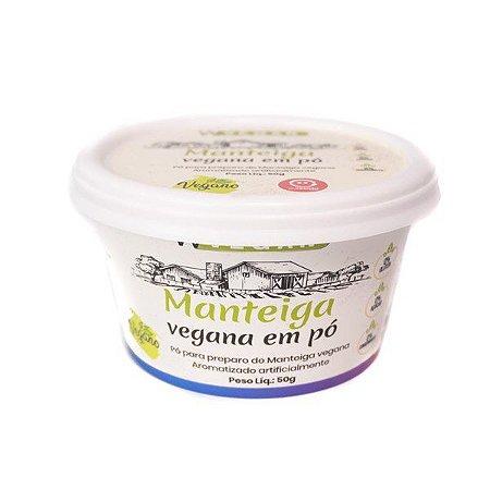 Manteiga Vegana em Pó 50g - Wvegan