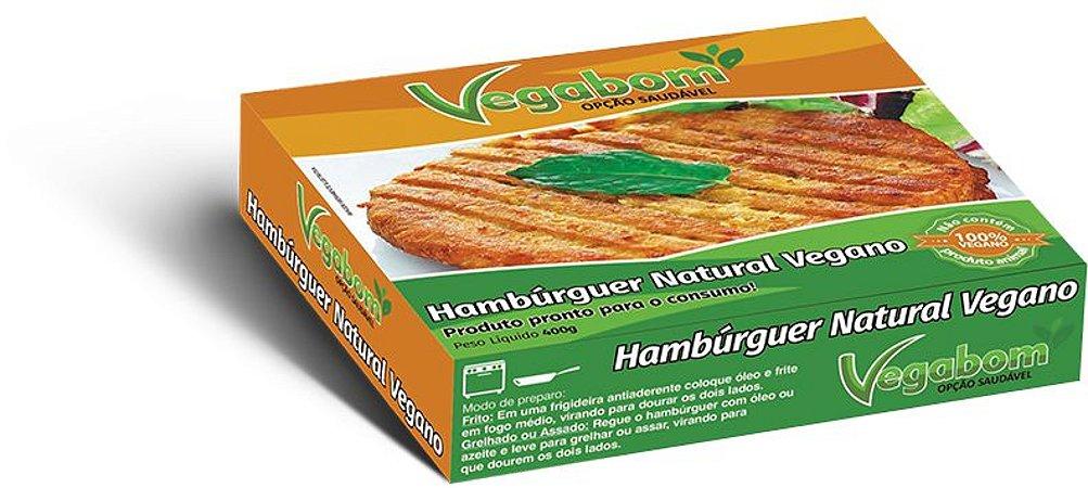 Hamburguer Vegano 400g - Vegabom