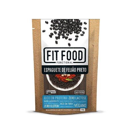 Espaguete de Feijão Preto Orgânico 200g - Fit Food