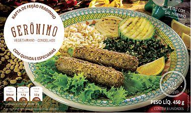 Kafta de Feijão Fradinho c/ Quinoa 450g - Gerônimo