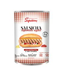 Salsicha Vegetal Defumada 300g - Superbom