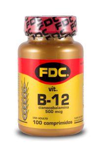 Vitamina B12 500mcg - FDC Vitaminas