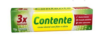 Gel Dental Tripla Proteção 70g - Contente